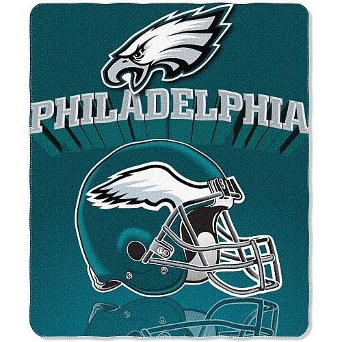 "Philadelphia Eagles 50"" x 60"" Gridiron Fleece Throw Blanket"