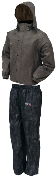 All Sport Rain Suit | Stone Black | Size Md by Frogg Toggs