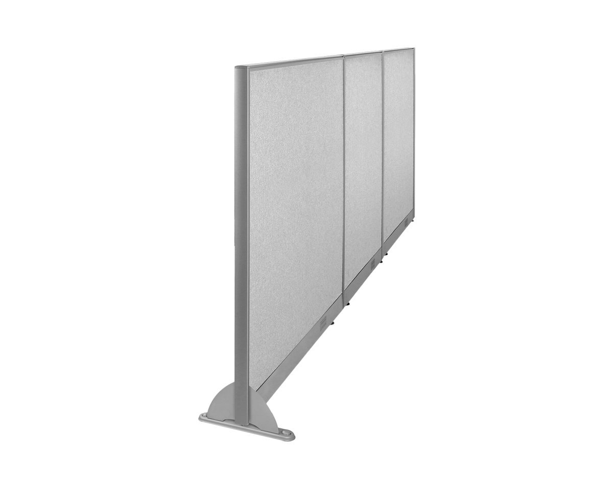 "144""W x 48""H Wall Mounted Office Partition Cubicle Panel Room Divider by GOF"