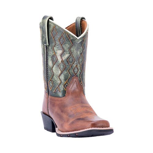 Children's Dan Post Boots Teddy Broad Square Toe Cowboy Boot DPC3946 by Dan Post