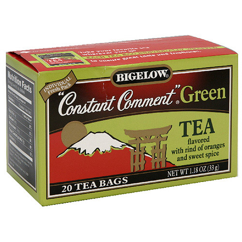 Bigelow Constant Comment Green Tea, 20ct  (Pack of 6)