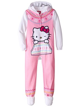 ee4ec790c Hello Kitty Girls Pajamas   Robes - Walmart.com