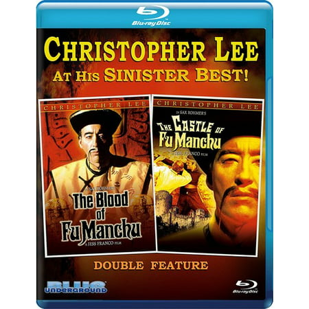 Fu Manchu Tu-Fer: Blood of Fu Manchu & Castle of Fu Manchu - Fu Manchu Moustache