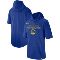 Golden State Warriors Nike Wordmark Logo Hooded T-Shirt - Royal