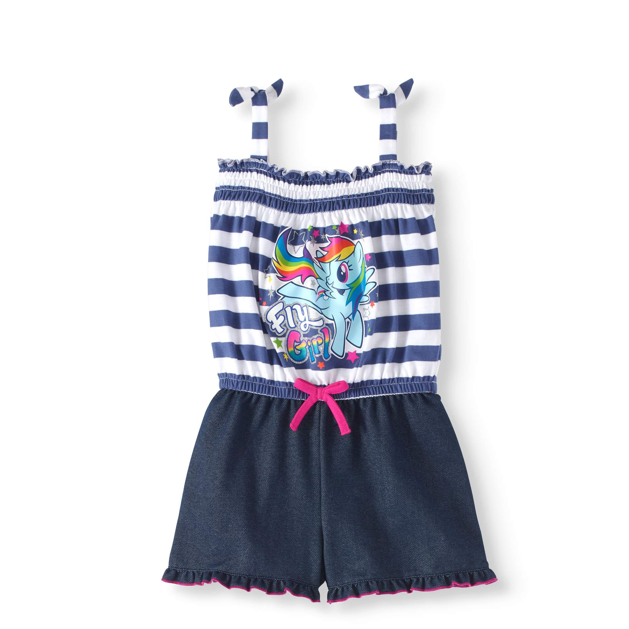 Toddler Girl Sleeveless Tank Shorts Romper