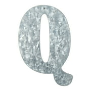 On the Surface Tin Letter Q, 1 Each