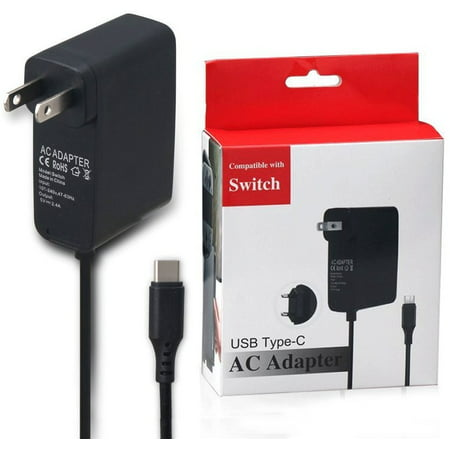 TekDeals Home Wall Travel Charger Plug Cord AC Adapter Power Supply for Nintendo Switch Wall Charger Ac Adapter