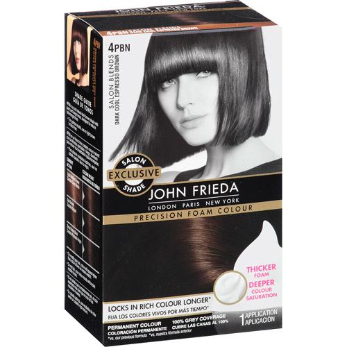John Frieda Precision Foam Hair Colour 4pbn Dark Cool