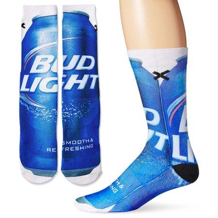 men s cotton bud light socks walmart com