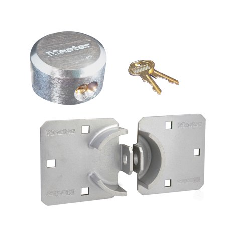 Master Lock - 770 - 6271 - Hidden Shackle Padlock Hasp Combo - Single
