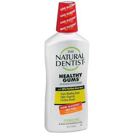 The Natural Dentist Healthy Gums Antigingivitis Mouthwash in Peppermint