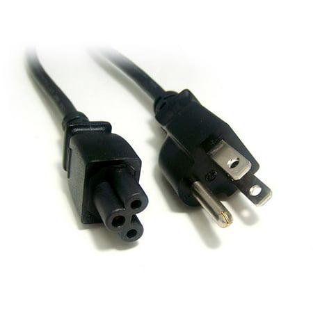 Micro Connectors 6\' 3-Prong Laptop AC Power Cord Polarized - Walmart.com