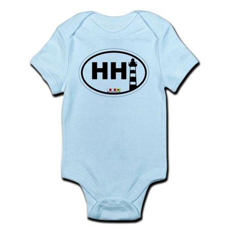- CafePress - Hilton Head Island Infant Bodysuit - Baby Light Bodysuit