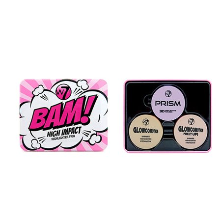 W7 Bam High Impact Highlighter Trio