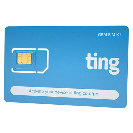 Ting GSM Sim Card Kit for Unlocked Cell Phones