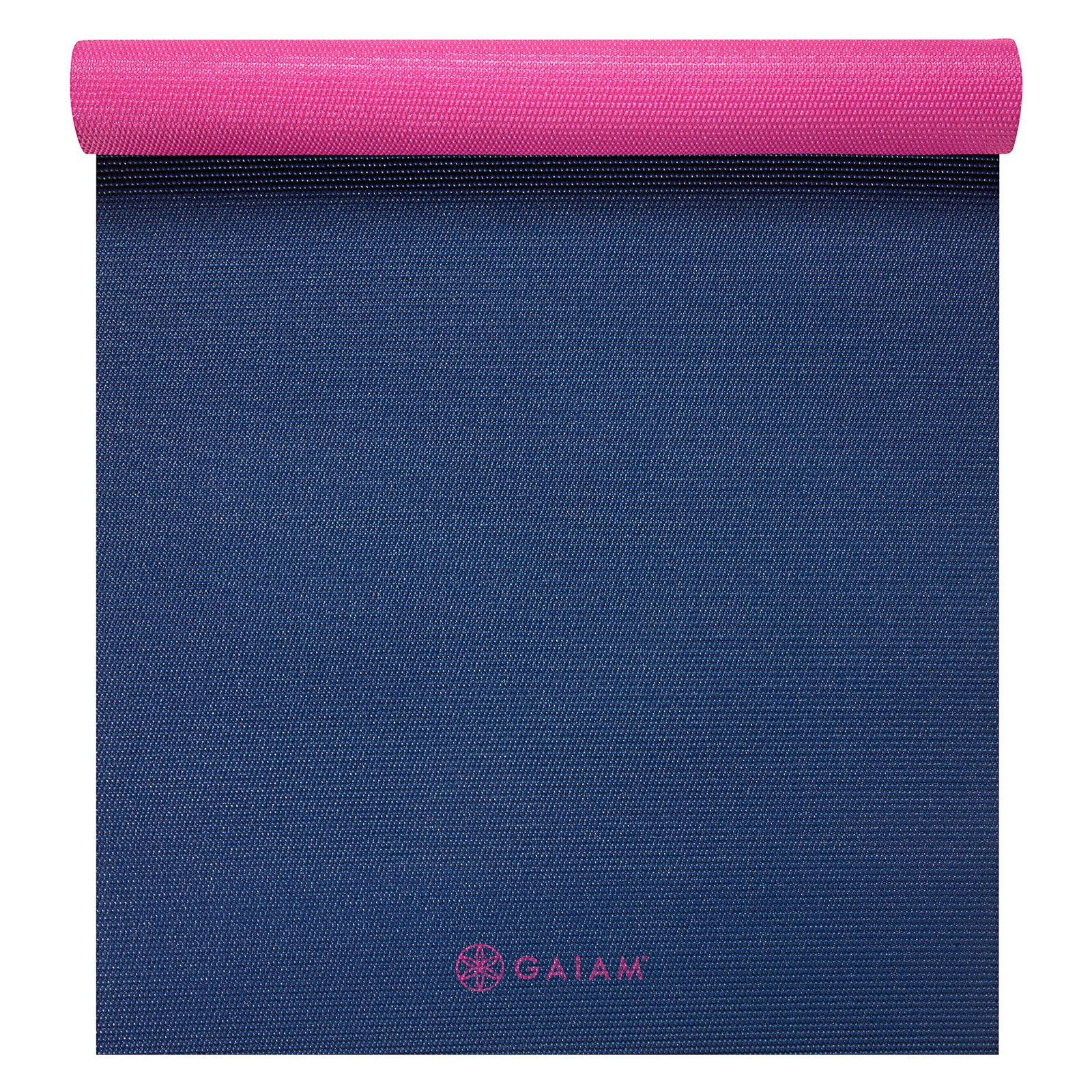 Gaiam 2-Color Yoga Mat, Granite Storm, 3mm