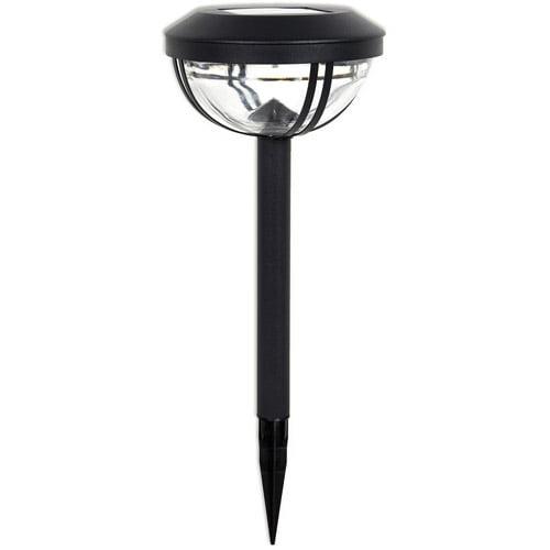 Duracell 7LM Solar Pathway Light, 4pk, Black