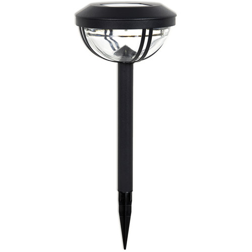 Duracell Advanced Solar Pathway Light, 4 pack, Black
