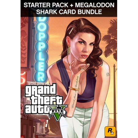 GTA V + Grand Theft Auto Criminal Enterprise Starter Pack + Megalodon Shark Card [Digital Download] - New Cars Gta 5 Halloween