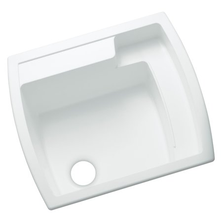 Sterling by Kohler Latitude® 995 Single Basin Drop In Utility (Kohler Coralais Decorator Kitchen Sink)