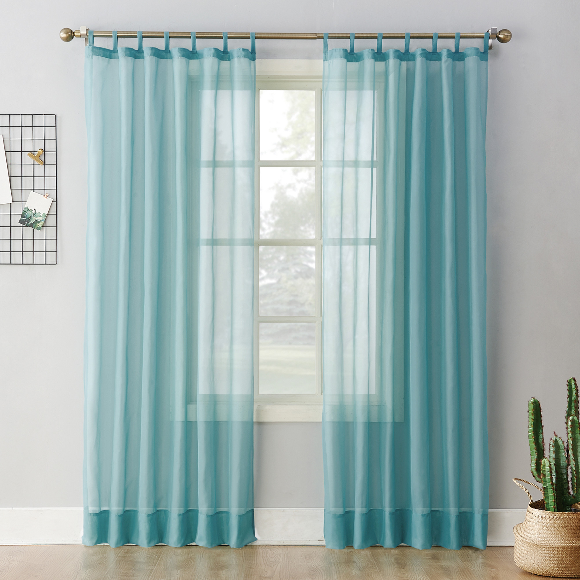 tab top sheer curtains. 918 Emily Sheer Voile Tab Top Curtain Panel Curtains I