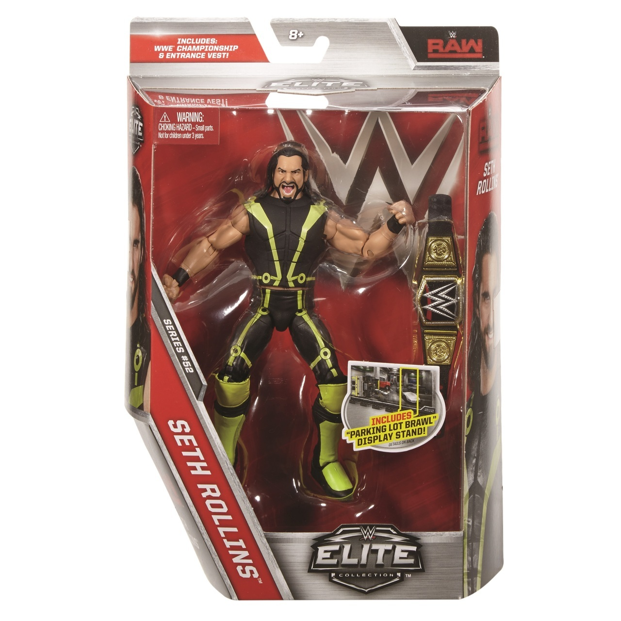 Seth Rollins WWE Mattel Elite Series 52 Action Figure