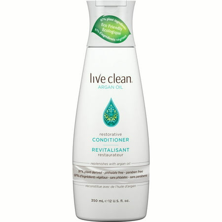 Live Clean Exotic Nectar Argan Oil Restorative Conditioner, 12 oz. Bottle ()