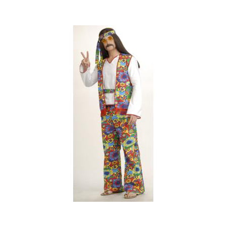 COSTUME-HIPPIE DIPPIE MAN-PLUS](F-14 Halloween)