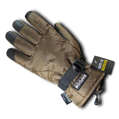 Rapid Dominance T57 Breathable Winter Gloves-Coyote-L by Rapid Dominance
