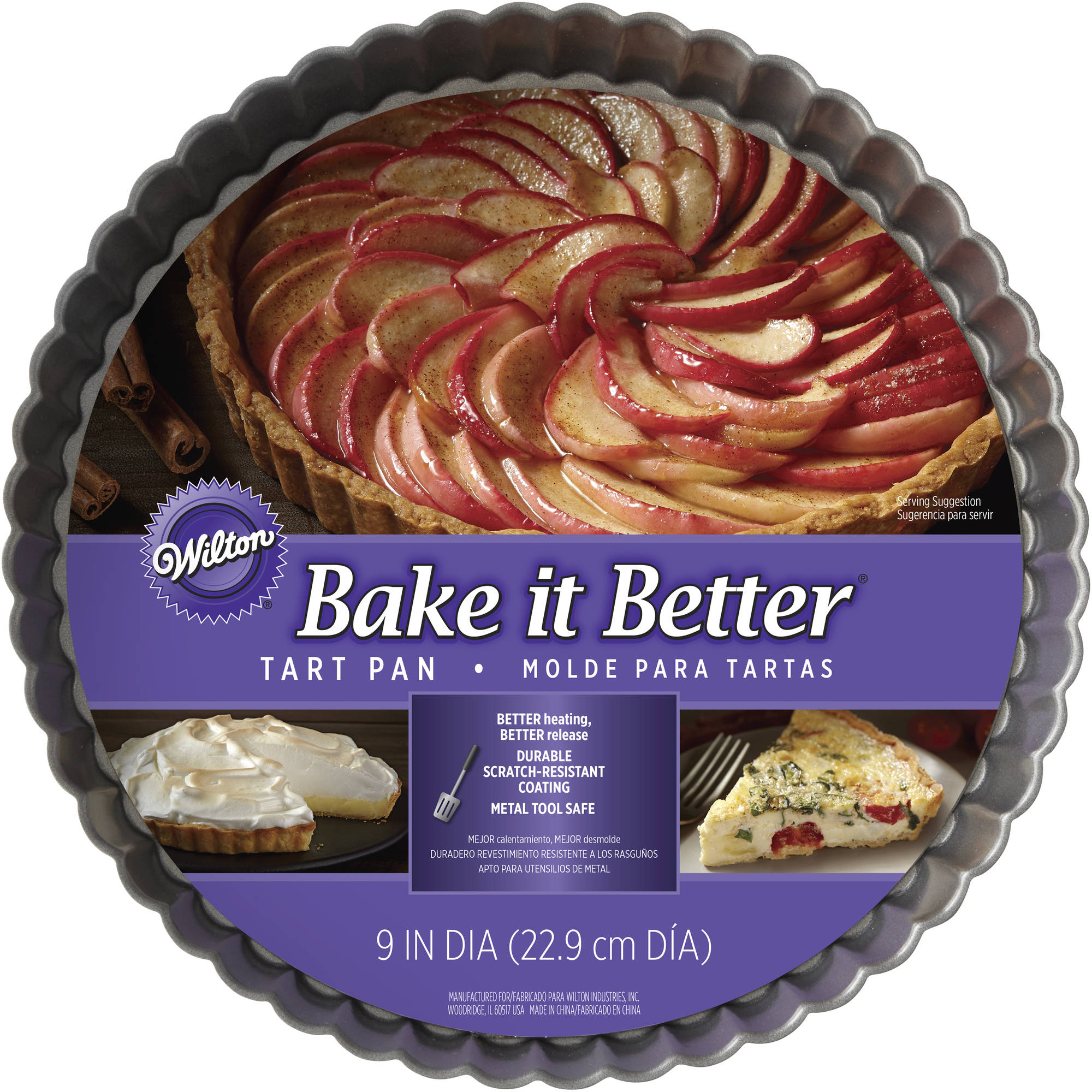 Generic Wilton Bake It Better 9 Tart Pan
