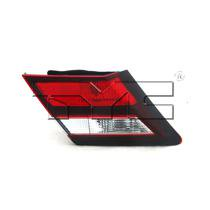 Go-Parts » 2013 - 2015 Honda Civic Trunk Lid Tail Light - Left (Driver) 34155-TR0-A51 HO2802105 Replacement For Honda Civic
