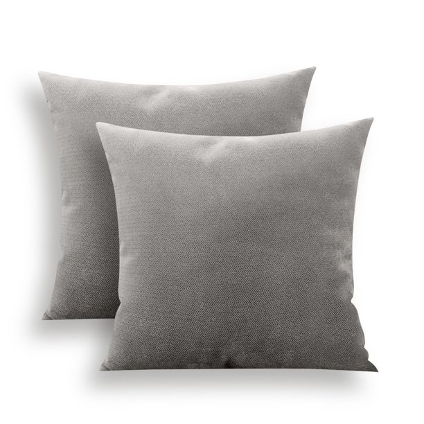 Throw Pillow Covers 20x20 Inch Pillow Covers Grey Couch Pillow