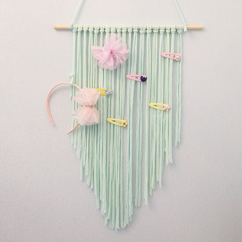 Unicorn Hair Clips Holder Hanger Girl Women Hair Bow Headband Storage Organizer