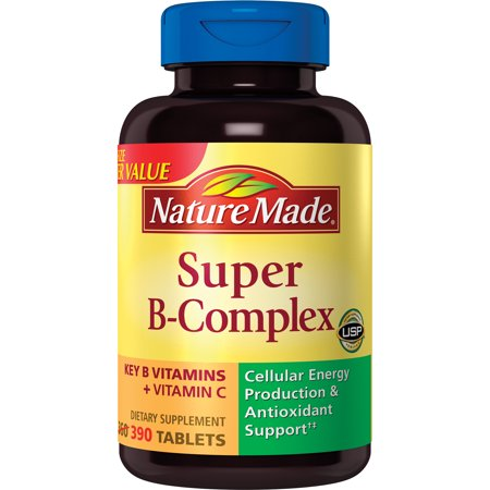 - Nature Made® Super B-Complex Dietary Supplement Tablets 390ct