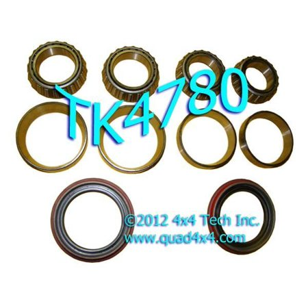 TK4780 Front Wheel Bearing Parts Kits for 1969 5-1994 Ford Dana 44