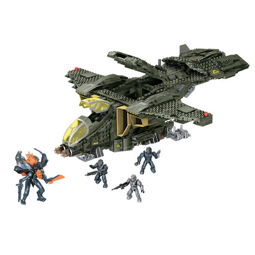 Mega Bloks Halo UNSC Pelican Gunship Play Set by Mega Brands