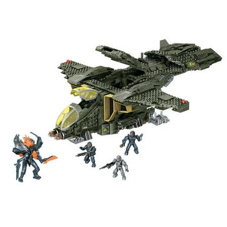 Mega Bloks Halo Unsc Pelican Gunship Play Set