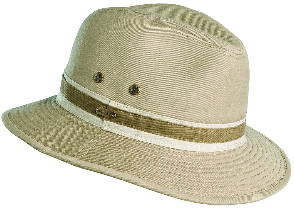 Stetson Mens Safari Twill Hat