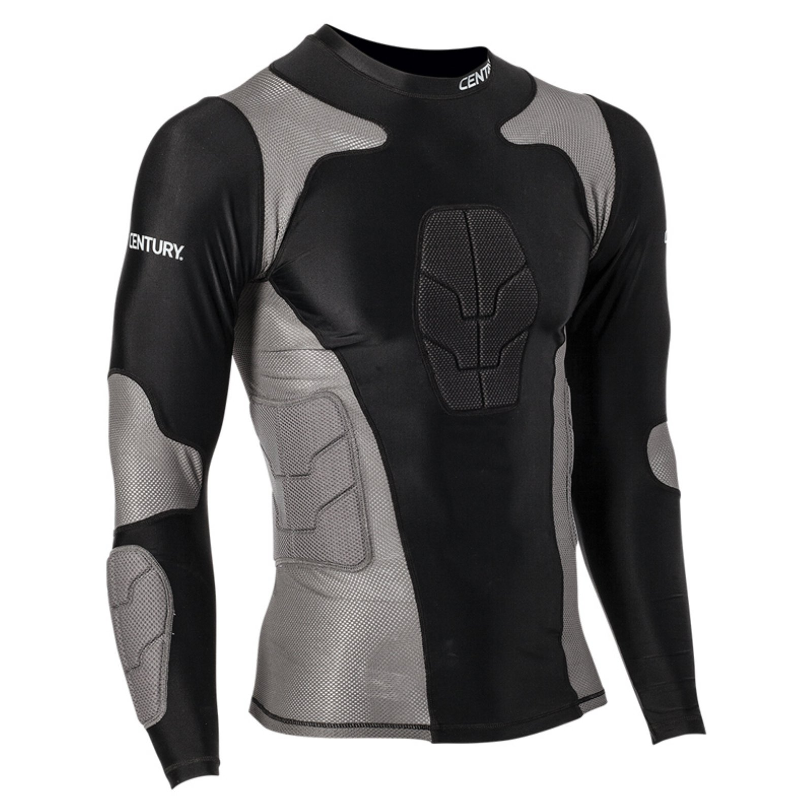 Century Long Sleeve Padded Youth Compression Shirt
