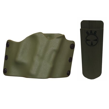 Ultimate Arms Gear TAURUS PT92 PT-92 Holster Multi-Fit OWB Belt Right Hand,  OD Olive Drab Green + 9mm/ 40/ 45 Mag Pouch