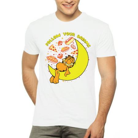 Men's Garfield Short Sleeve Graphic T - Mens Garfield