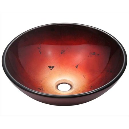 607 Foil Undertone Glass Vessel Sink (607 Glasses)