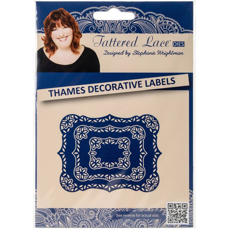 Tattered Lace Metal Die-thames Decorativ
