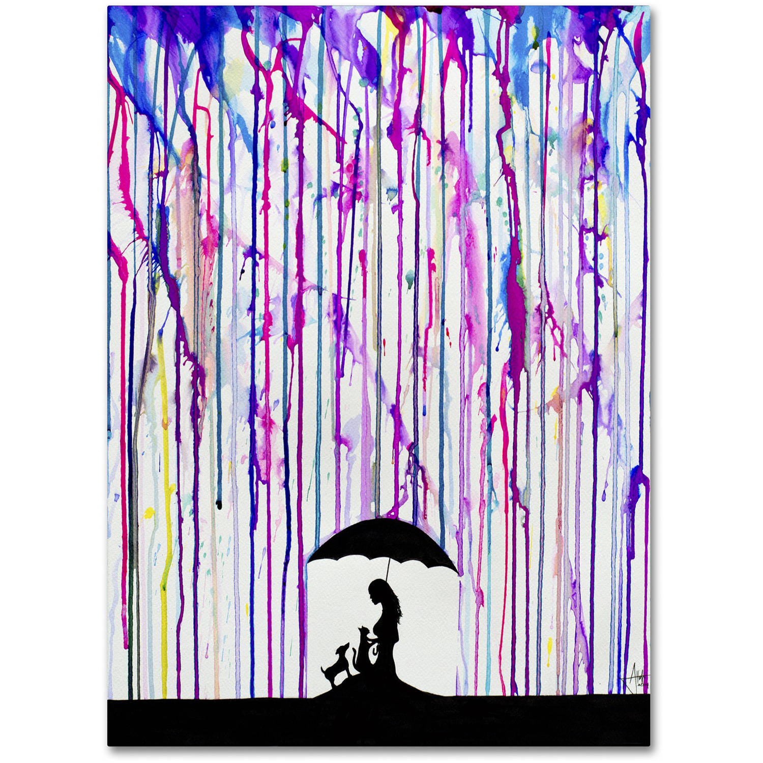 Trademark Fine Art 'Cradle' Canvas Art by Marc Allante