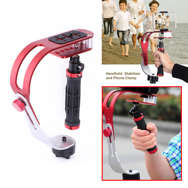 VGEBY Handheld Video Camera Stabilizer Steady for GoPro Canon Nikon Lumix Pentax and Other DSLR SLR