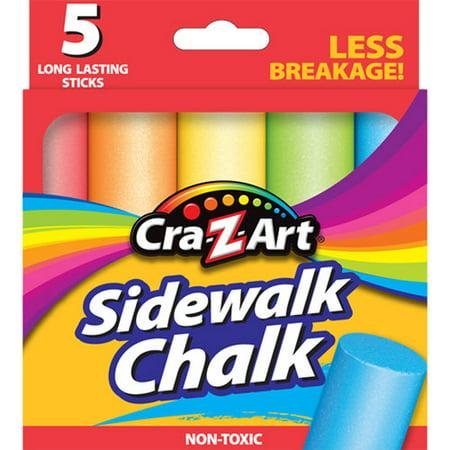 Cra-Z-art Sidewalk Chalk, 5ct