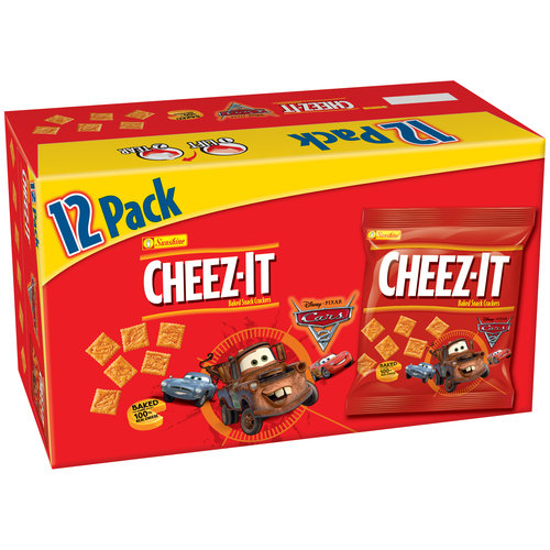 Sunshine Cheez-It Disney/Pixar Cars Baked Snack Crackers, 12ct