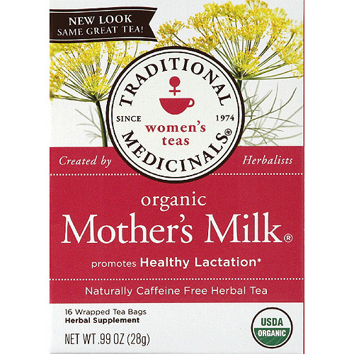 Generic Traditional Medicinals Organic Mother's Milk Herbal Supplement Tea Bags, 0.99 oz, (Pack of 6)