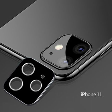 3D Protective Lens Film for Apple iPhone 11 Pro Max Titanium Alloy All-round Mobile Phone Protection Lens Film - image 1 of 2