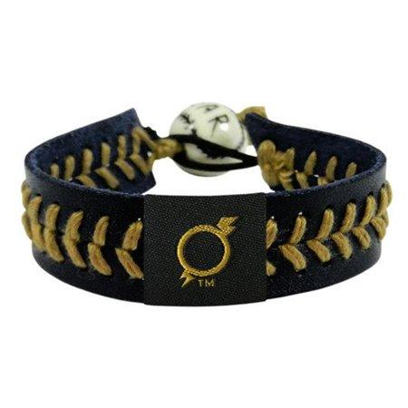Gamewear 4421404407 MLB Omaha Storm Chasers Team Color Baseball Bracelet - Black & -